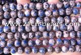 CKJ702 15.5 inches 8mm round imitation k2 jasper beads wholesale