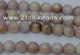 CKU202 15.5 inches 7mm round pink kunzite beads wholesale