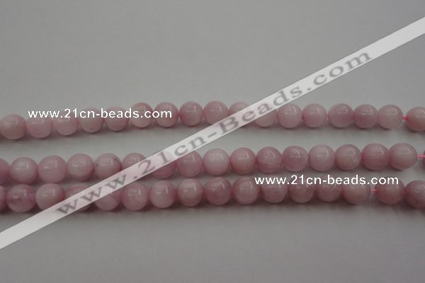 CKU252 15.5 inches 7mm round pink kunzite beads wholesale