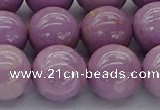CKU305 15.5 inches 11mm round kunzite gemstone beads