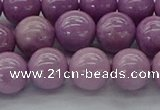 CKU311 15.5 inches 7mm round kunzite gemstone beads