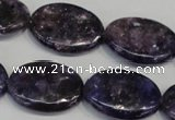 CKU42 15.5 inches 18*25mm oval purple kunzite beads wholesale