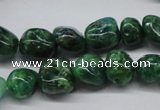 CKU54 15.5 inches 8*10mm - 10*12mm nuggets dyed kunzite beads