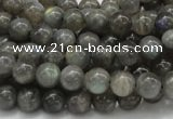 CLB02 16 inches 8mm round labradorite gemstone beads wholesale