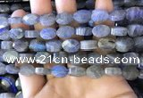 CLB1026 15.5 inches 8*12mm faceted oval labradorite gemstone beads