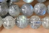 CLB1057 15.5 inches 6mm round labradorite gemstone beads
