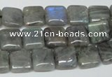 CLB162 15.5 inches 10*10mm square labradorite gemstone beads