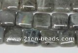 CLB163 15.5 inches 12*12mm square labradorite gemstone beads
