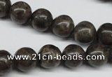 CLB434 15.5 inches 12mm round grey labradorite beads wholesale
