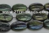 CLB648 15.5 inches 10*14mm oval AB-color labradorite beads