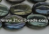 CLB652 15.5 inches 18*25mm oval AB-color labradorite beads