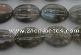 CLB84 15.5 inches 13*18mm oval labradorite beads wholesale