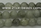 CLB861 15.5 inches 6mm faceted round AB grade labradorite beads