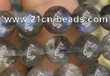 CLB920 15.5 inches 8mm round labradorite beads wholesale