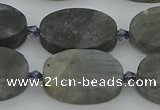 CLB978 15.5 inches 15*22mm oval labradorite gemstone beads