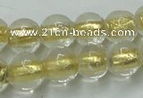 CLG836 15.5 inches 8mm round lampwork glass beads wholesale