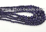 CLJ612 6mm - 14mm round sesame jasper graduated beads