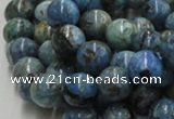 CLR04 16 inches 12mm round larimar gemstone beads wholesale