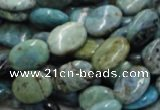 CLR12 16 inches 12*16mm oval larimar gemstone beads wholesale