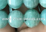 CME241 15.5 inches 10*11mm - 10*12mm pumpkin amazonite beads