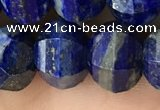 CME245 15.5 inches 10*11mm - 10*12mm pumpkin lapis lazuli beads