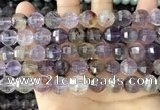 CME251 15.5 inches 10*11mm - 11*12mm pumpkin ametrine beads