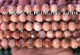 CME303 15.5 inches 8*11mm - 9*12mm pumpkin moonstone beads