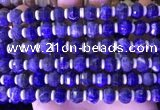 CME318 15.5 inches 8*10mm pumpkin sodalite gemstone beads