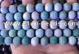 CME325 15.5 inches 9*11mm - 10*12mm pumpkin amazonite beads