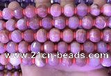 CME326 15.5 inches 9*11mm - 10*12mm pumpkin moonstone beads