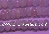 CMG130 15 inches 4*6mm rondelle natural morganite beads wholesale