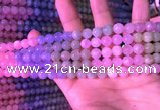CMG316 15.5 inches 7mm round morganite gemstone beads