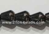 CMH138 15.5 inches 8*8mm teardrop magnetic hematite beads