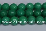 CMJ101 15.5 inches 8mm round Mashan jade beads wholesale
