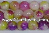CMJ1071 15.5 inches 8mm round jade beads wholesale
