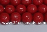 CMJ110 15.5 inches 12mm round Mashan jade beads wholesale