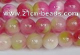 CMJ1160 15.5 inches 6mm round jade beads wholesale