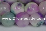 CMJ1228 15.5 inches 12mm round jade beads wholesale