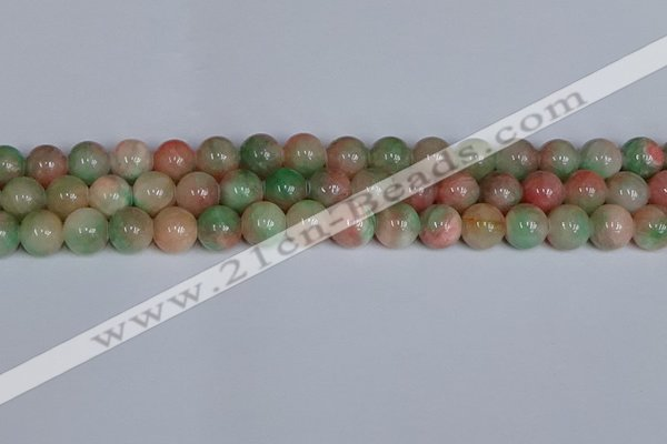 CMJ1231 15.5 inches 8mm round jade beads wholesale