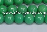 CMJ130 15.5 inches 10mm round Mashan jade beads wholesale