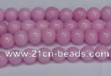 CMJ155 15.5 inches 4mm round Mashan jade beads wholesale