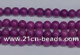CMJ162 15.5 inches 4mm round Mashan jade beads wholesale