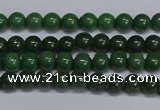 CMJ176 15.5 inches 4mm round Mashan jade beads wholesale