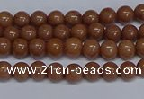 CMJ183 15.5 inches 4mm round Mashan jade beads wholesale