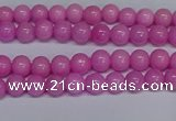 CMJ204 15.5 inches 4mm round Mashan jade beads wholesale