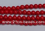 CMJ225 15.5 inches 4mm round Mashan jade beads wholesale