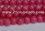CMJ233 15.5 inches 6mm round Mashan jade beads wholesale