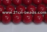 CMJ242 15.5 inches 10mm round Mashan jade beads wholesale