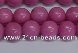 CMJ250 15.5 inches 12mm round Mashan jade beads wholesale