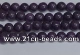 CMJ260 15.5 inches 4mm round Mashan jade beads wholesale
